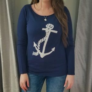 NWOT Sweater with Anchor